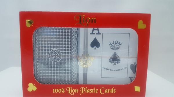 Carti de joc 100% plastic, jumbo index - double deck 2
