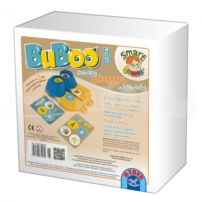Joc Buboo - Să Învățăm Alfabetul [1]