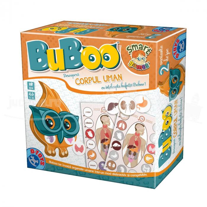 Joc Buboo - Descoperă Corpul Uman [0]