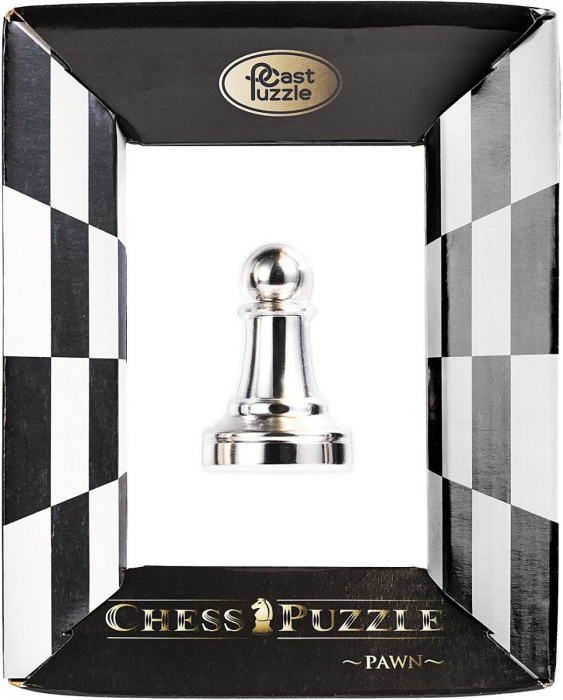 Puzzle - Cast Chess Pawn - Silver [0]