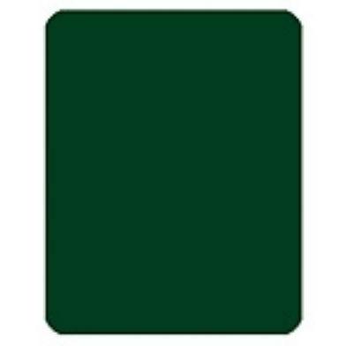 Cut card din plastic - verde 0
