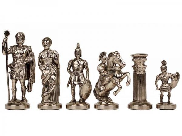 Piese sah din metal - Grecii si Romanii - Mare 0