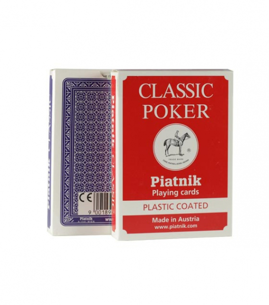 Carti de joc Piatnik Classic Poker 0