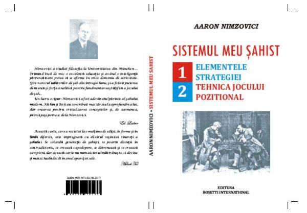 Carte : Sistemul meu sahist A. Nimzovici imagine
