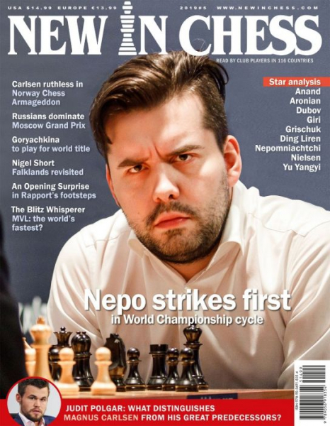 Revista : New In Chess 2019/5: The Club Player's Magazine 0