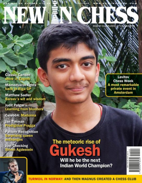 Revista : New In Chess 2019/6: The Club Player's Magazine 0
