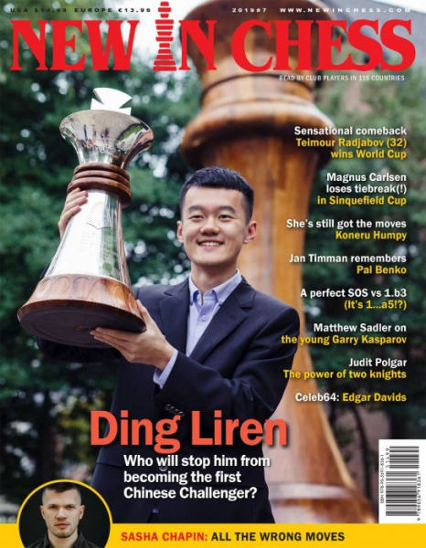 Revista : New In Chess 2019/7: The Club Player's Magazine 0