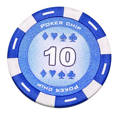 Jeton Poker Chip 11.5g - Culoare Albastru - inscriptionat (10) 1