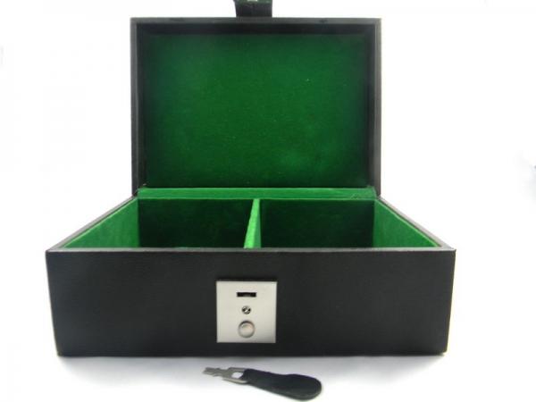Cutie pentru piese sah din piele ecologica 0