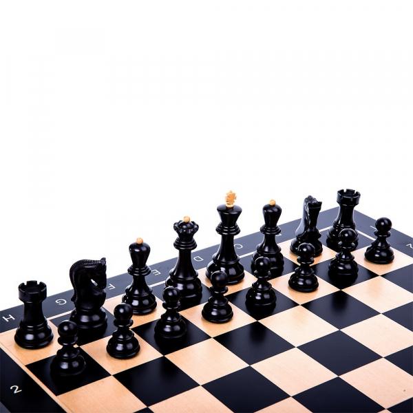 Piese Staunton 6 Zagreb cu tabla negru/artar 0