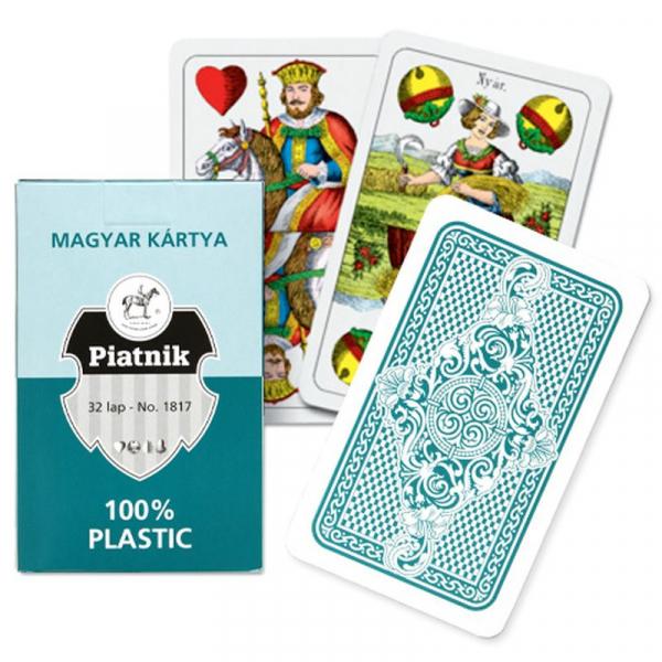 Carti de Joc unguresti 100% plastic, Piatnik 0