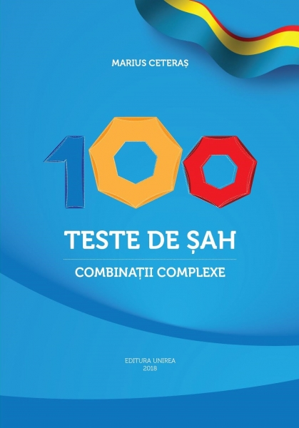 Carte : 100 Teste de sah. Combinatii complexe M. Ceteras imagine