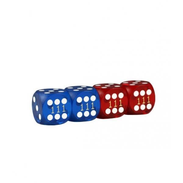 Zaruri de mare precizie -14mm - Rosu Albastru