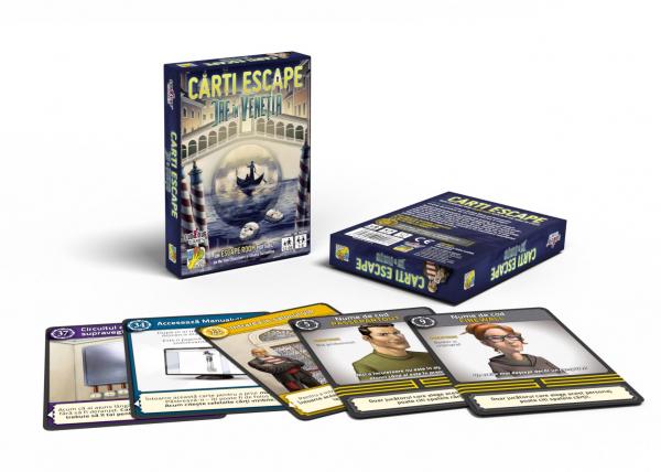 Cărți Escape Ed. II- Jaf în Veneția [1]