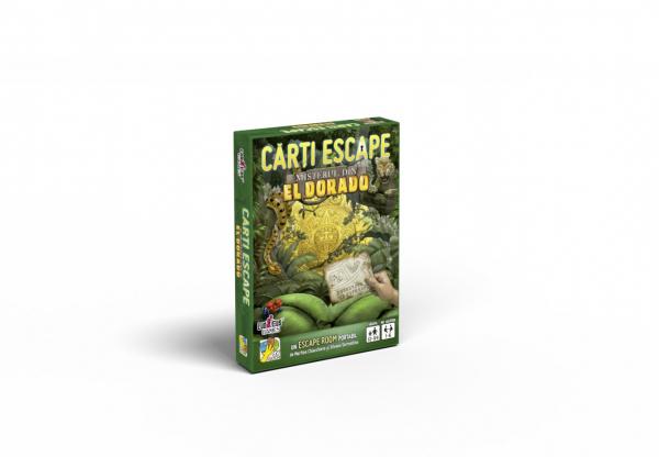 Cărți Escape Ed. II - Misterul din Eldorado 0