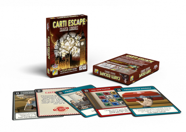 Cărți Escape Ed. II- Soarta Londrei 1