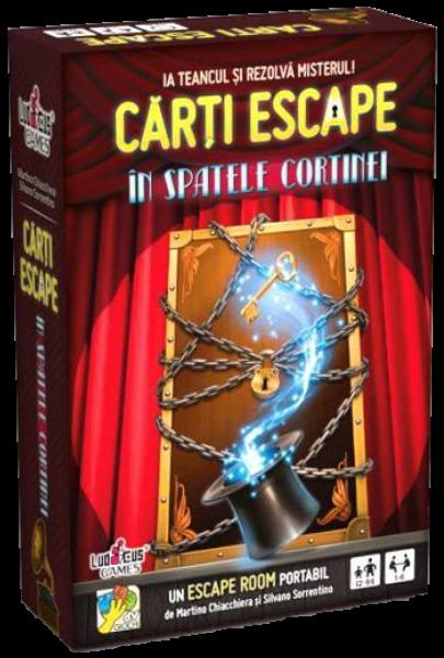 Cărți Escape - În spatele cortinei [0]