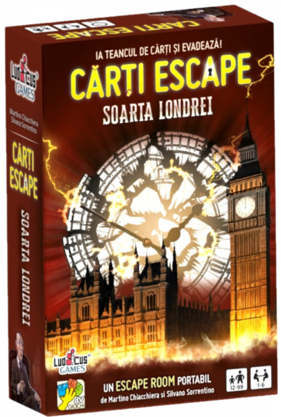Cărți Escape - Soarta Londrei 0