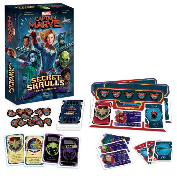 Captain Marvel: Secret Skrulls (EN) 1