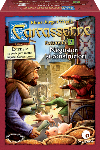 Carcassonne, extensia 2: Negustori și constructori 0