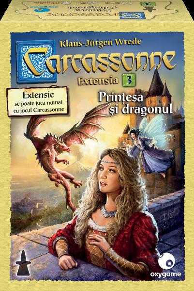 Carcassonne, extensia 3: Printesa si dragonul