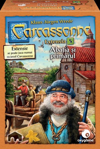 Carcassonne, extensia 5: Abatia si primarul