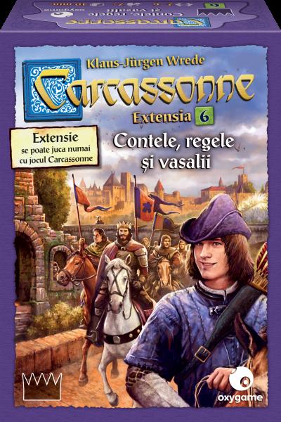 Carcassonne, extensia 6: Contele, regele și vasalii 0