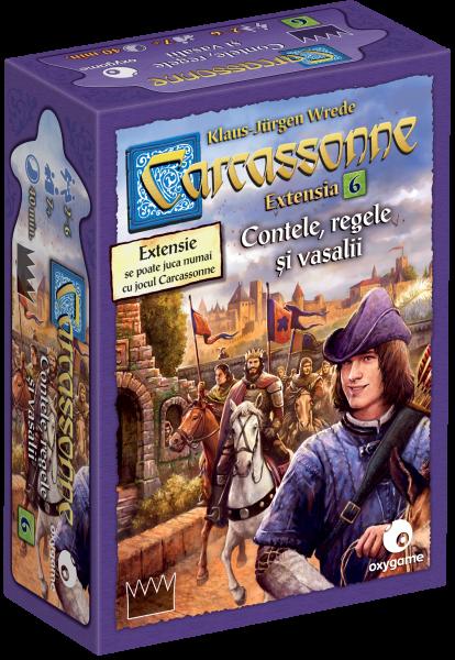 Carcassonne, extensia 6: Contele, regele și vasalii [1]