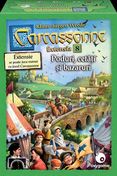 Carcassonne, extensia 8: Poduri, cetăți și bazaruri 0