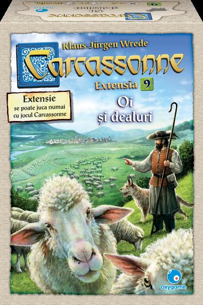 Carcassonne, extensia 9: Oi si dealuri