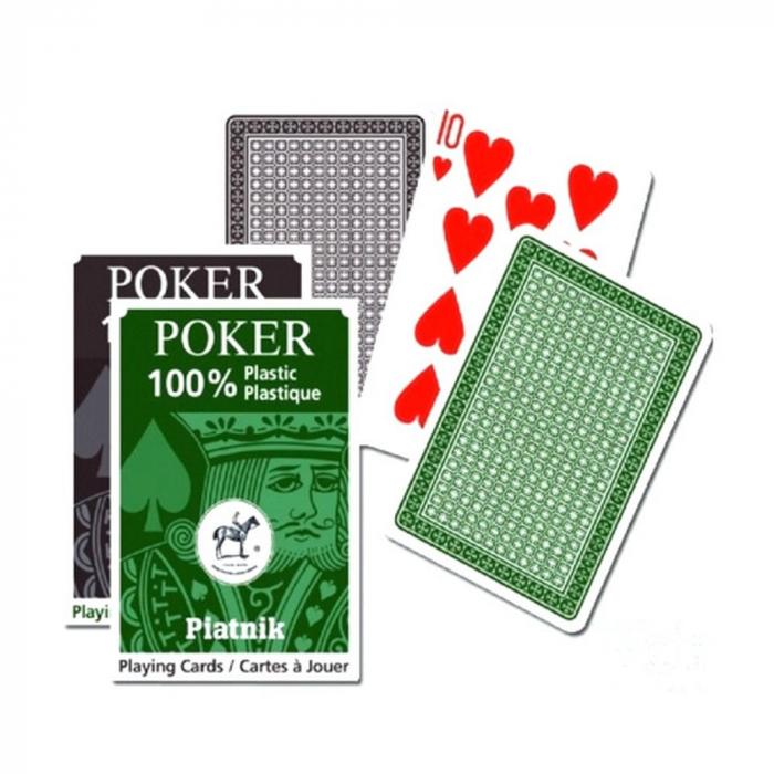 Carti de joc 100% plastic Piatnik, Jumbo Index 0