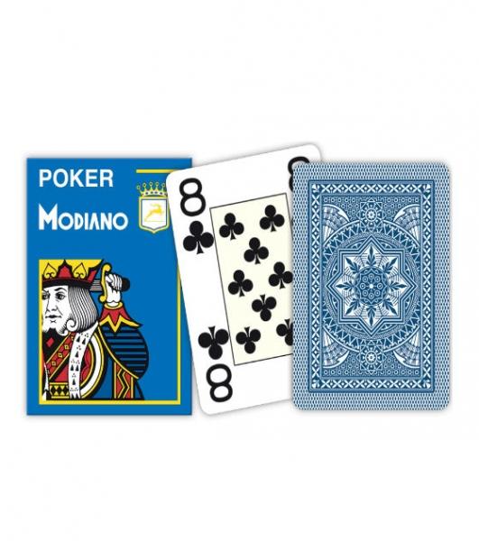 Carti de joc 100% plastic Poker  Cristallo 0