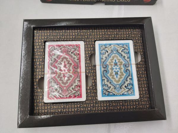 Carti de joc 100 % plastic Star Platin 2