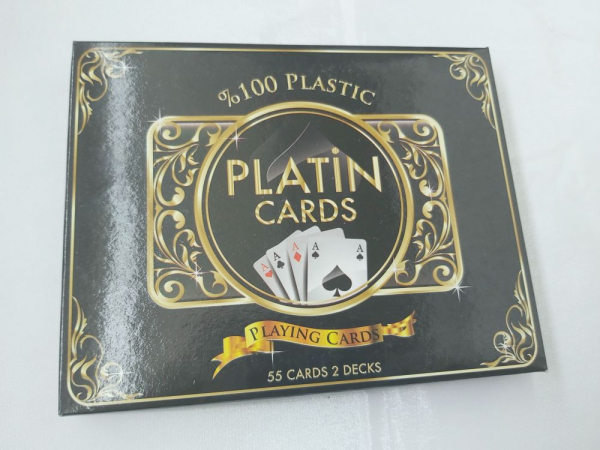 Carti de joc 100 % plastic Star Platin 0
