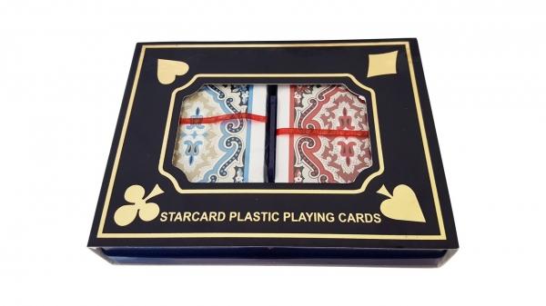 Carti de joc din plastic Hockey Star, double deck 1