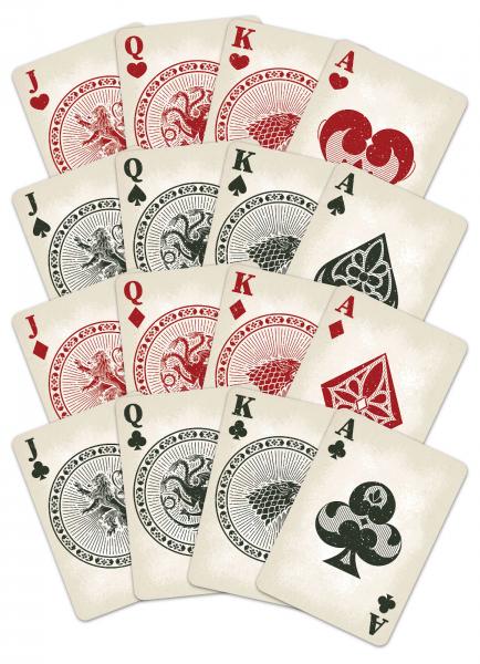 Carti de joc Game of Thrones 2