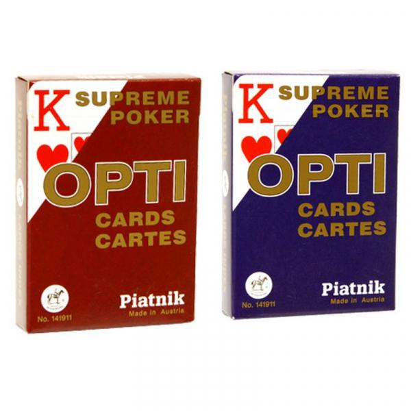 Carti de Joc Poker Opti, Piatnik 0