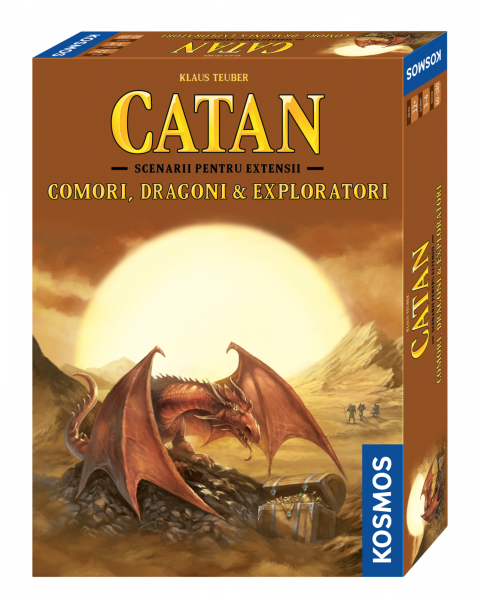 Catan - Comori, Dragoni Exploratori