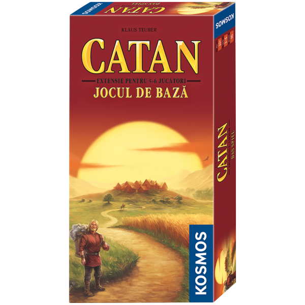 CATAN - extensie 5/6 jucatori la jocul de baza 0
