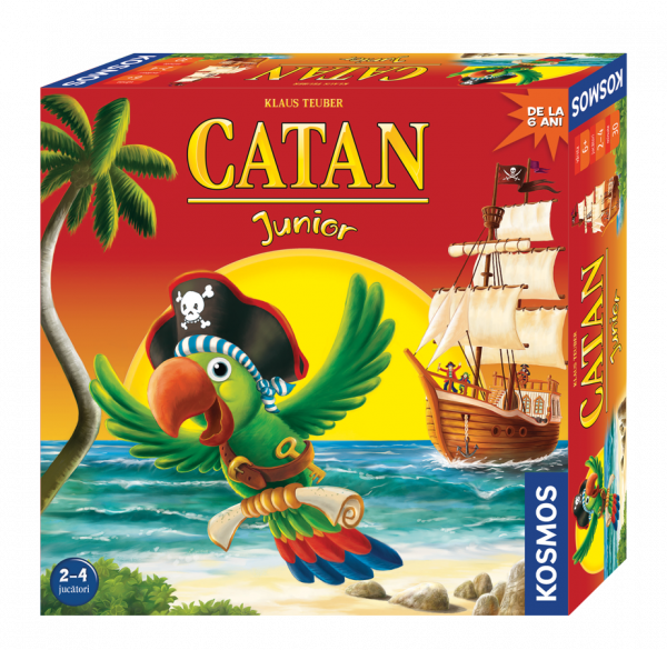 Catan - Junior joc independent