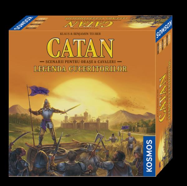 Catan - Legenda cuceritorilor (editie aniversara OC de 20 de ani)