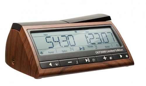 Ceas de sah DGT 3000, editie limitata 0