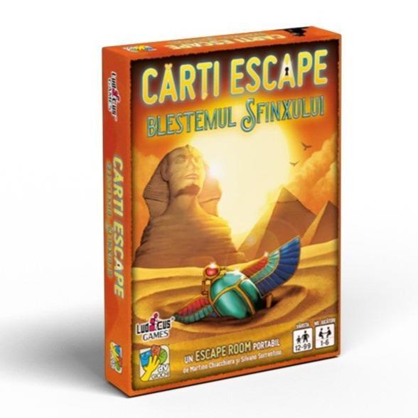 Cărți Escape Ed. II- Blestemul Sfinxului 0