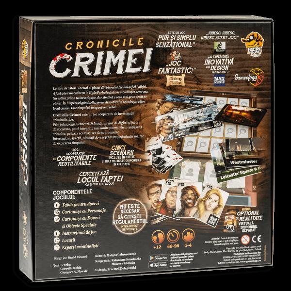Cronicile Crimei (RO) - Joc de investigatie interactiv 1