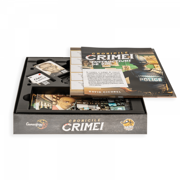 Cronicile Crimei (RO) - Joc de investigatie interactiv 3
