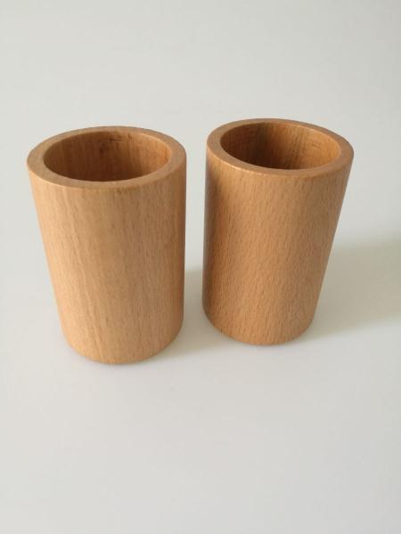 Cupa lemn pentru zaruri-2 bucati 1