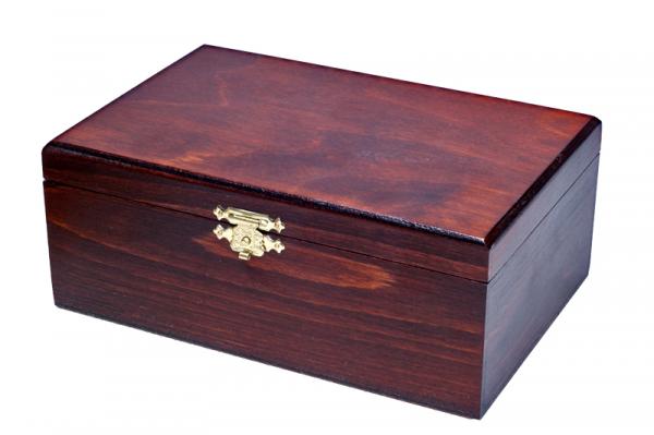 Cutie lemn pentru piese sah no 4 Sunrise 0