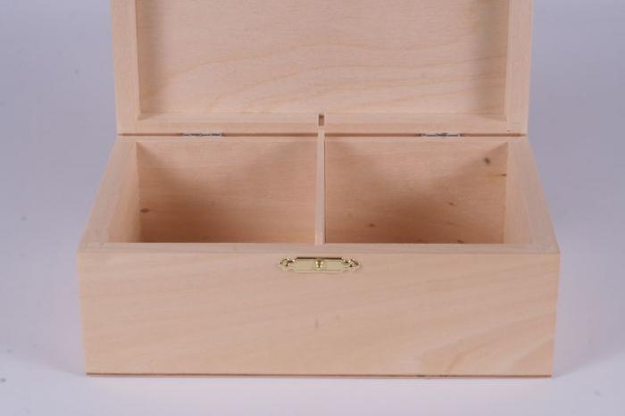 Cutie din lemn natur pentru piese sah no. 6 2