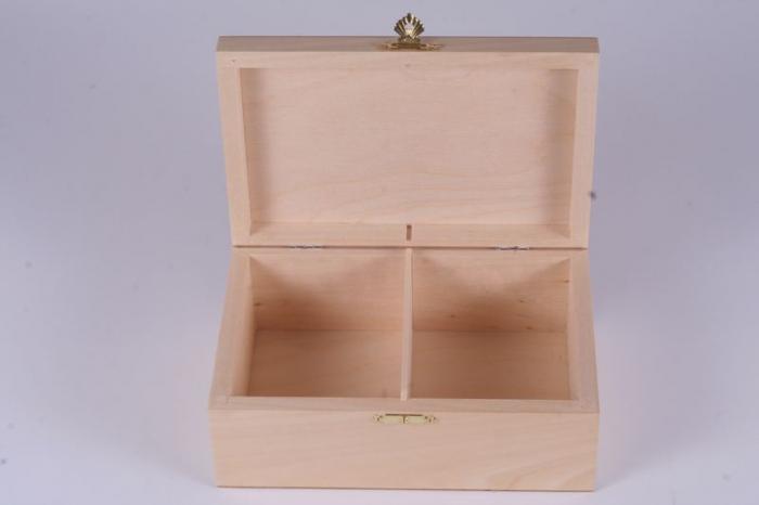 Cutie din lemn natur pentru piese sah no. 6 1