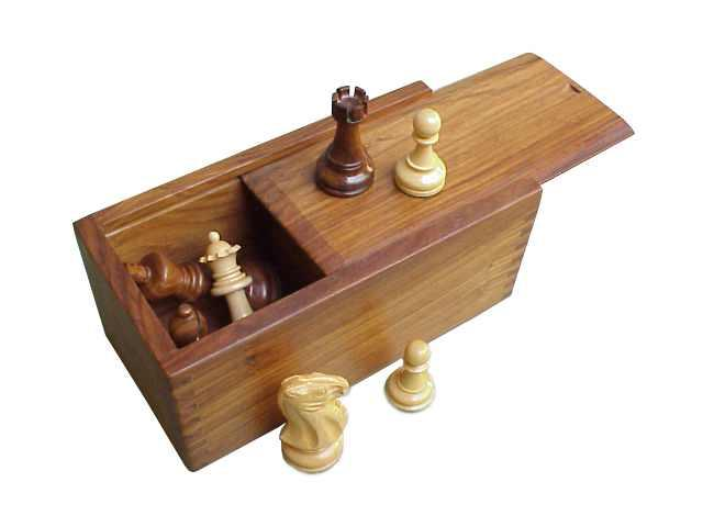 Cutie piese sah din lemn sheesham - glisanta 0